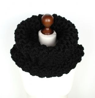 Black Outlander Style Cowl